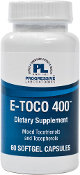 E-Toco 400 - 60 Softgels #798